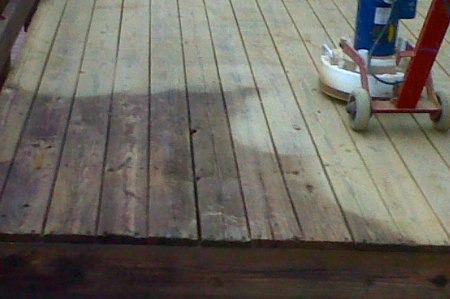 deck sanding resized