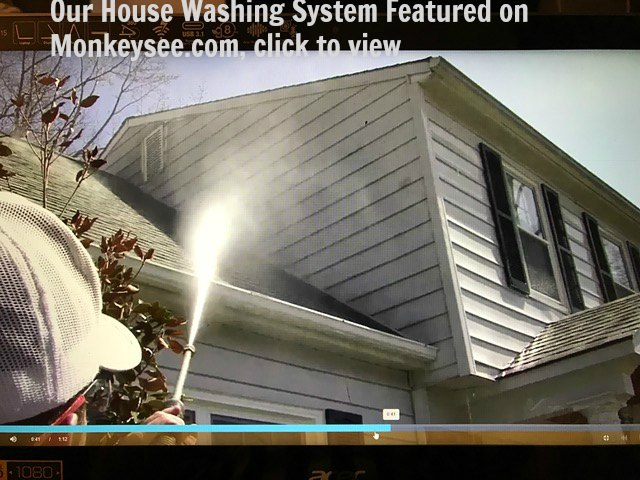 Wash My Deck Uses A Combination Low Pressure Detergent And Soft Bristle Brush To House